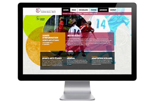 Le tout nouveau site Internet de l'école Cardinal-Roy est maintenant en ligne!